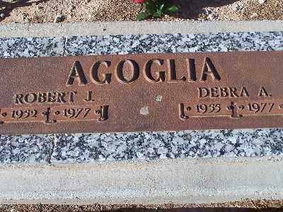 AGOGLIA, ROBERT J - Mohave County, Arizona | ROBERT J AGOGLIA - Arizona Gravestone Photos