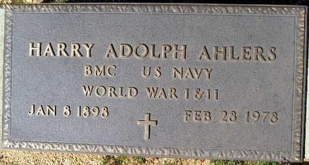AHLERS, HARRY ADOLPH - Mohave County, Arizona | HARRY ADOLPH AHLERS - Arizona Gravestone Photos