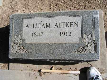 AITKEN, WILLIAM - Mohave County, Arizona | WILLIAM AITKEN - Arizona Gravestone Photos