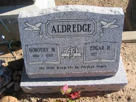 ALDREDGE, EDGAR H - Mohave County, Arizona | EDGAR H ALDREDGE - Arizona Gravestone Photos