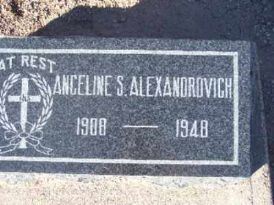 ALEXANDROVICH, ANGELINE STRAMA - Mohave County, Arizona | ANGELINE STRAMA ALEXANDROVICH - Arizona Gravestone Photos