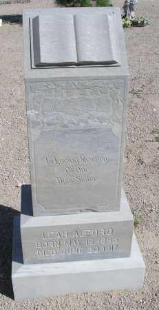 ALFORD, LEAH - Mohave County, Arizona | LEAH ALFORD - Arizona Gravestone Photos