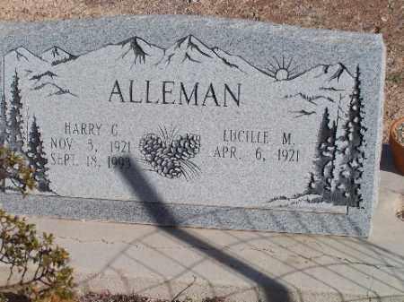 ALLEMAN, HARRY C - Mohave County, Arizona | HARRY C ALLEMAN - Arizona Gravestone Photos