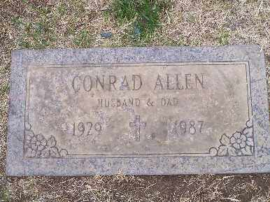 ALLEN, CONRAD - Mohave County, Arizona | CONRAD ALLEN - Arizona Gravestone Photos
