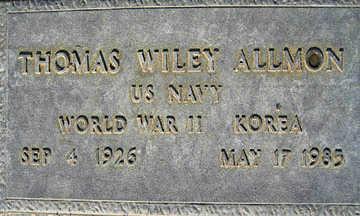 ALLMON, THOMAS WILEY - Mohave County, Arizona | THOMAS WILEY ALLMON - Arizona Gravestone Photos