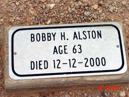 ALSTON, BOBBY H - Mohave County, Arizona | BOBBY H ALSTON - Arizona Gravestone Photos