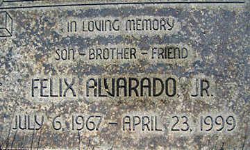 ALVARADO, FELIX JR. - Mohave County, Arizona   FELIX JR. ALVARADO - Arizona Gravestone Photos