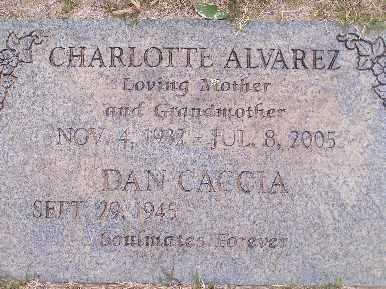 ALVAREZ, CHARLOTTE - Mohave County, Arizona   CHARLOTTE ALVAREZ - Arizona Gravestone Photos