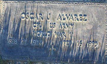 ALVAREZ, OSCAR J - Mohave County, Arizona | OSCAR J ALVAREZ - Arizona Gravestone Photos