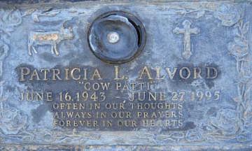 ALVORD, PATRICIA L - Mohave County, Arizona   PATRICIA L ALVORD - Arizona Gravestone Photos