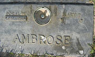 AMBROSE, DORAL W - Mohave County, Arizona | DORAL W AMBROSE - Arizona Gravestone Photos
