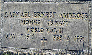 AMBROSE, RAPHAEL ERNEST - Mohave County, Arizona | RAPHAEL ERNEST AMBROSE - Arizona Gravestone Photos