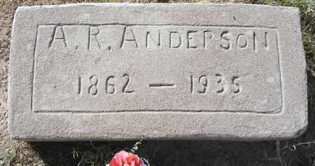 ANDERSON, AUGUST RANHOLD - Mohave County, Arizona | AUGUST RANHOLD ANDERSON - Arizona Gravestone Photos
