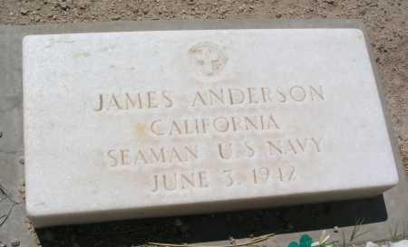 ANDERSON, JAMES - Mohave County, Arizona | JAMES ANDERSON - Arizona Gravestone Photos