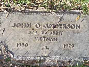 ANDERSON, JOHN OSCAR - Mohave County, Arizona | JOHN OSCAR ANDERSON - Arizona Gravestone Photos