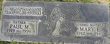 ANDERSON, PAUL M - Mohave County, Arizona | PAUL M ANDERSON - Arizona Gravestone Photos