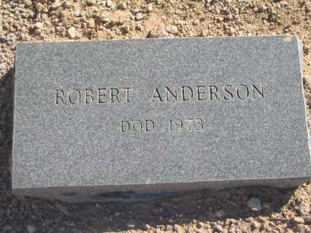 ANDERSON, ROBERT - Mohave County, Arizona | ROBERT ANDERSON - Arizona Gravestone Photos