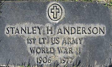 ANDERSON, STANLEY H - Mohave County, Arizona | STANLEY H ANDERSON - Arizona Gravestone Photos
