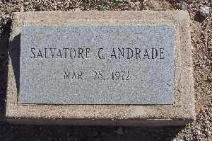 ANDRADE, SALVATORE C - Mohave County, Arizona | SALVATORE C ANDRADE - Arizona Gravestone Photos