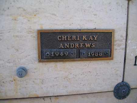ANDREWS, CHERI KAY - Mohave County, Arizona   CHERI KAY ANDREWS - Arizona Gravestone Photos
