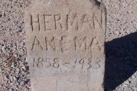 ANEMA, HERMAN - Mohave County, Arizona   HERMAN ANEMA - Arizona Gravestone Photos