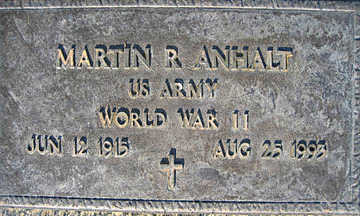 ANHALT, MARTIN R - Mohave County, Arizona   MARTIN R ANHALT - Arizona Gravestone Photos