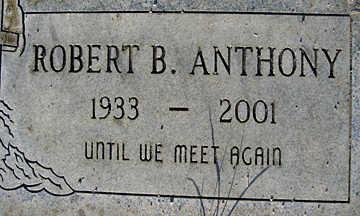 ANTHONY, ROBERT B - Mohave County, Arizona | ROBERT B ANTHONY - Arizona Gravestone Photos