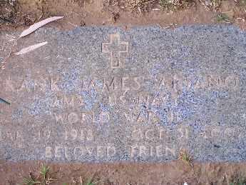 ARIANO, FRANK JAMES - Mohave County, Arizona   FRANK JAMES ARIANO - Arizona Gravestone Photos