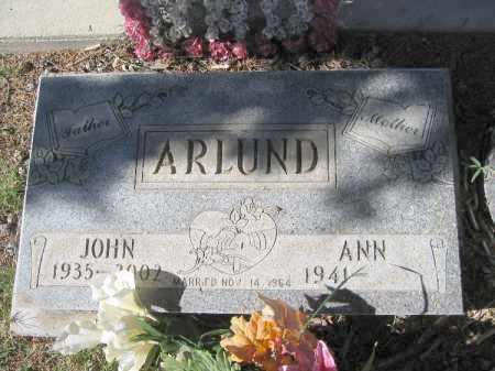 ARLUND, JOHN - Mohave County, Arizona | JOHN ARLUND - Arizona Gravestone Photos