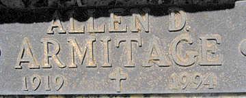ARMITAGE, ALLEN D - Mohave County, Arizona | ALLEN D ARMITAGE - Arizona Gravestone Photos