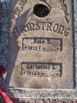 ARMSTRONG, DALE N - Mohave County, Arizona | DALE N ARMSTRONG - Arizona Gravestone Photos
