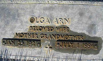 ARN, OLGA - Mohave County, Arizona | OLGA ARN - Arizona Gravestone Photos