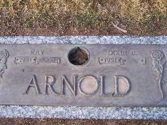 ARNOLD, RAYMOND C - Mohave County, Arizona | RAYMOND C ARNOLD - Arizona Gravestone Photos