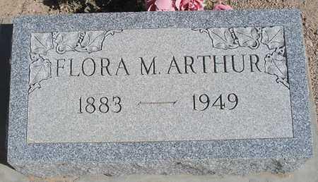 ARTHUR, FLORA M. - Mohave County, Arizona | FLORA M. ARTHUR - Arizona Gravestone Photos