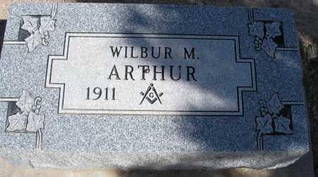 ARTHUR, WILBUR M. - Mohave County, Arizona   WILBUR M. ARTHUR - Arizona Gravestone Photos