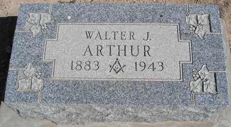 ARTHUR, WALTER J. - Mohave County, Arizona | WALTER J. ARTHUR - Arizona Gravestone Photos