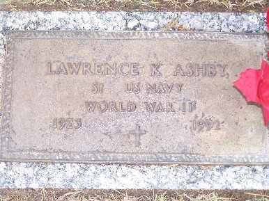 ASHBY, LAWRENCE K - Mohave County, Arizona | LAWRENCE K ASHBY - Arizona Gravestone Photos