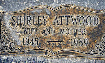 ATTWOOD, SHIRLEY - Mohave County, Arizona | SHIRLEY ATTWOOD - Arizona Gravestone Photos