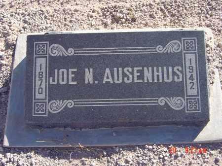 AUSENHUS, JOE N - Mohave County, Arizona   JOE N AUSENHUS - Arizona Gravestone Photos