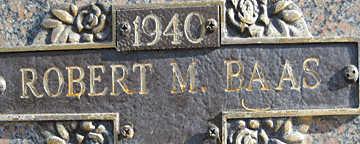 BAAS, ROBERT M - Mohave County, Arizona | ROBERT M BAAS - Arizona Gravestone Photos