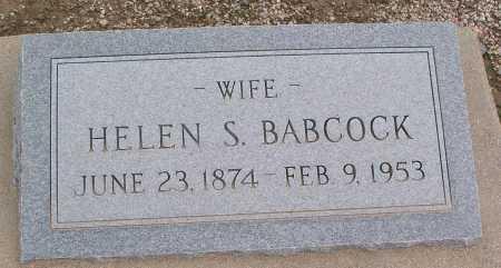 BABCOCK, HELEN S. - Mohave County, Arizona | HELEN S. BABCOCK - Arizona Gravestone Photos