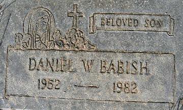 BABISH, DANIEL W - Mohave County, Arizona | DANIEL W BABISH - Arizona Gravestone Photos
