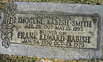 BABISH, FRANK EDWARD - Mohave County, Arizona   FRANK EDWARD BABISH - Arizona Gravestone Photos