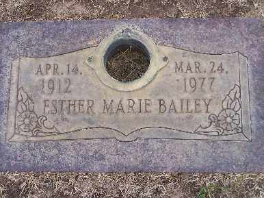 BAILEY, ESTHER MARIE - Mohave County, Arizona | ESTHER MARIE BAILEY - Arizona Gravestone Photos