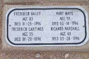 BAILEY, FREDERICK - Mohave County, Arizona | FREDERICK BAILEY - Arizona Gravestone Photos