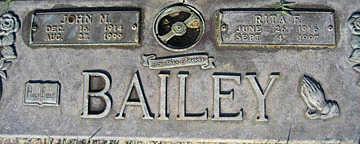 BAILEY, RITA F - Mohave County, Arizona | RITA F BAILEY - Arizona Gravestone Photos