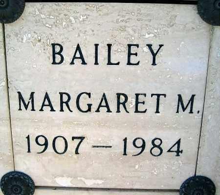 BAILEY, MARGARET M - Mohave County, Arizona   MARGARET M BAILEY - Arizona Gravestone Photos