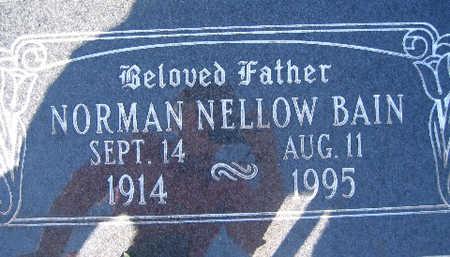 BAIN, NORMAN - Mohave County, Arizona | NORMAN BAIN - Arizona Gravestone Photos