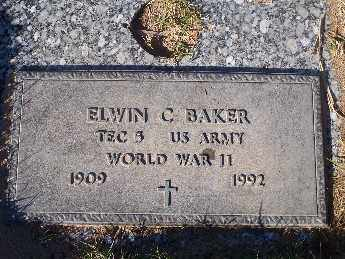 BAKER, ELWIN CORNWELL - Mohave County, Arizona   ELWIN CORNWELL BAKER - Arizona Gravestone Photos
