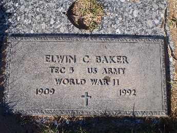 BAKER, ELWIN CORNWELL - Mohave County, Arizona | ELWIN CORNWELL BAKER - Arizona Gravestone Photos